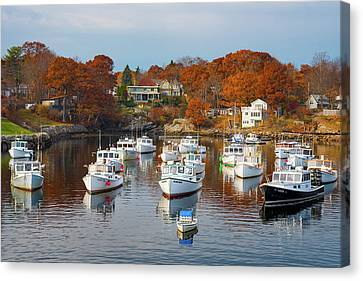 Canvas Print featuring the photograph Perkins Cove by Darren White