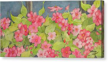 Perky Canvas Print by Mary Ellen Mueller Legault