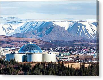 Perlan Canvas Print by Wade Courtney