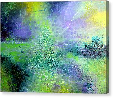 Permanent Green Canvas Print by Lolita Bronzini