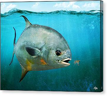 Permit Canvas Print by Anders Ovesen