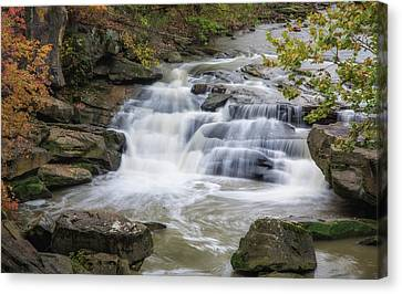 Canvas Print featuring the photograph Perpetual Flow by Dale Kincaid