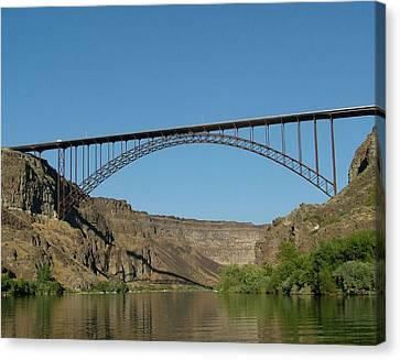 Perrine Bridge Canvas Print