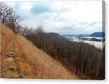 Perrot State Park Mississippi River 5 Canvas Print