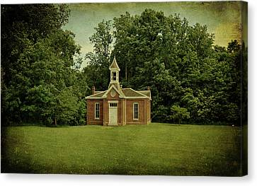 Perry Township School No. 3 Canvas Print