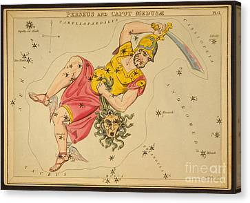 Perseus And Caput Medusae Canvas Print by Science Source