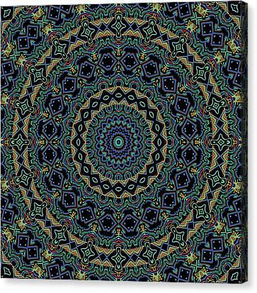 Persian Carpet Canvas Print by Joy McKenzie