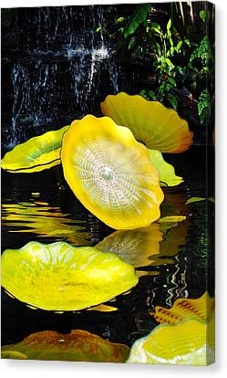 Persian Lily Pads Canvas Print