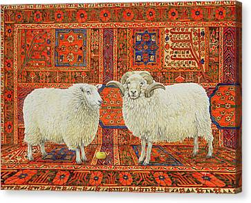 Persian Wool Canvas Print by Ditz
