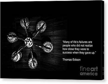 Persistence Canvas Print by Charuhas Images
