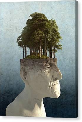 Personal Growth Canvas Print by Cynthia Decker