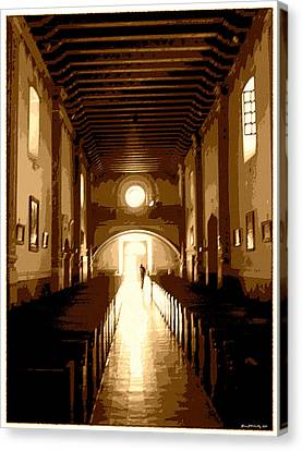 Personal Sanctuary Canvas Print by Glenn McCarthy Art and Photography