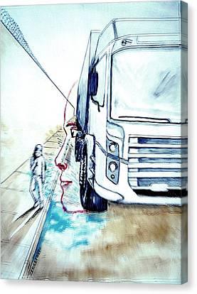 Perspective View Canvas Print by Paulo Zerbato