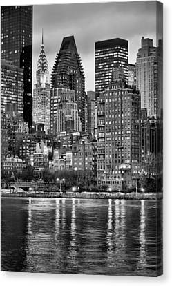 Perspectives V Bw Canvas Print by JC Findley