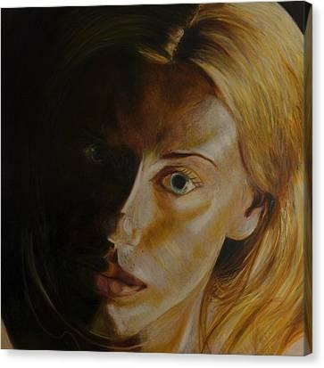 Pet Canvas Print by LB Zaftig