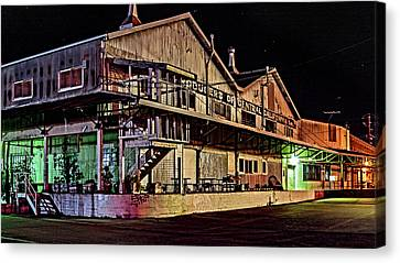 Canvas Print - Petaluma Poultry Producers by Bill Gallagher