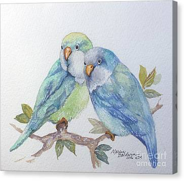 Canvas Print - Pete And Repete by Marcia Baldwin