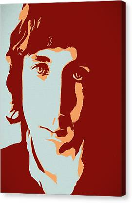 Roll Canvas Print - Pete Townshend Pop Art by Dan Sproul