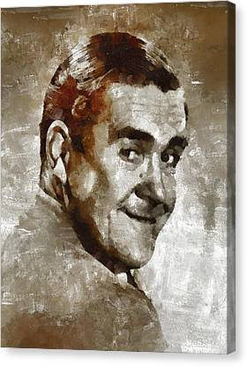 Peter Butterworth, Carry On Actor Canvas Print