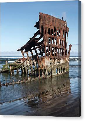 Peter Iredale 6288 Canvas Print