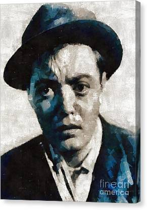 Peter Lorre Hollywood Actor Canvas Print by Mary Bassett