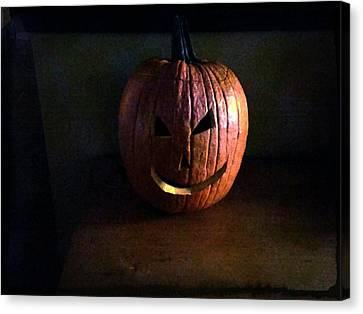 Peter Peter Pumpkin Eater Canvas Print by Michael L Kimble