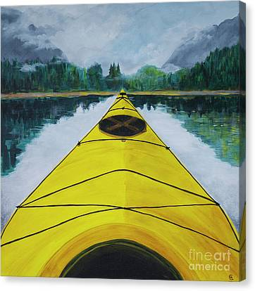 Petersburg Creek Canvas Print