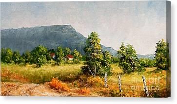 Petit Jean Mountain Canvas Print