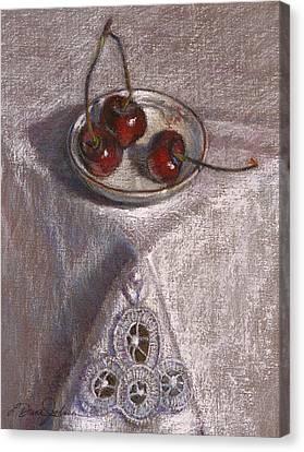 Petite Bowl IIi Canvas Print by L Diane Johnson