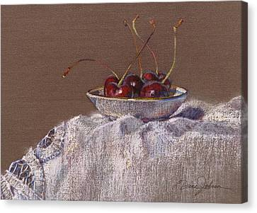Petite Bowl Iv Canvas Print by L Diane Johnson