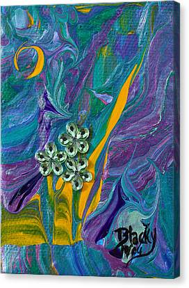 Petite Fleur Canvas Print by Donna Blackhall