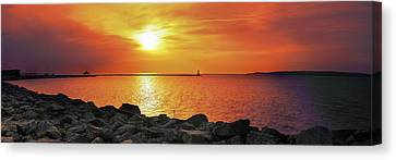 Canvas Print - Petoskey Sunset by Lee Wolf Winter