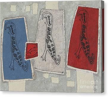 Petroglifos Canvas Print