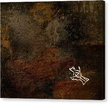 Petroglyph 5 Canvas Print