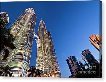 Petronas Towers Canvas Print