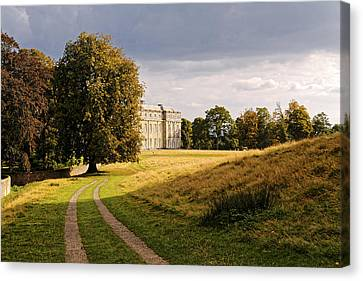 Canvas Print featuring the photograph Petworth Landscape by Michael Hope