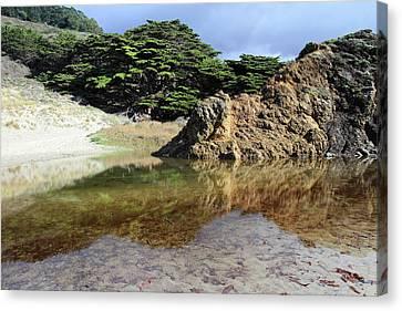 Pfeiffer Beach Landscape Canvas Print by Pierre Leclerc Photography