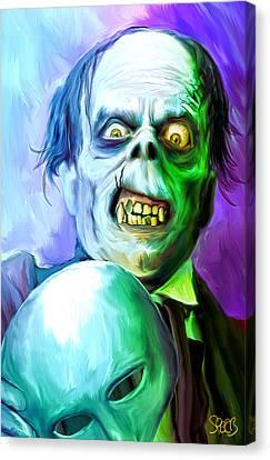 Phantom Of The Opera Mark Spears Monsters Canvas Print