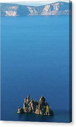 Phantom Ship Island Crater Lake National Park Oregon 2 Canvas Print