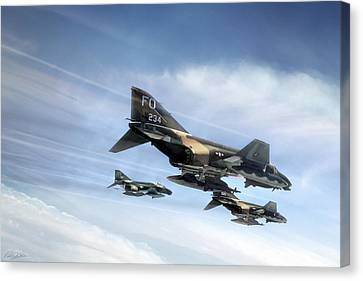 Phantom Strike Force Canvas Print by Peter Chilelli