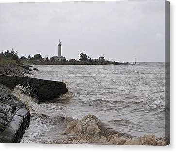 Canvas Print featuring the photograph phare de Richard by Marc Philippe Joly