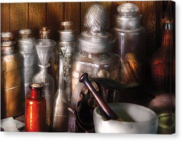 Pharmacist - Tools Of The Pharmacist  Canvas Print by Mike Savad