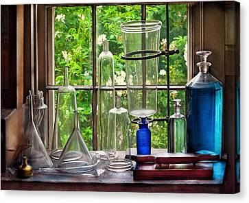 Pharmacy - Pharmaceuti-tools Canvas Print by Mike Savad