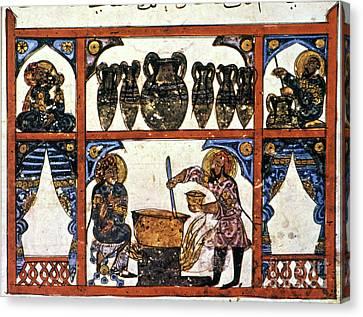 Pharmacy: Arabic Ms Canvas Print by Granger