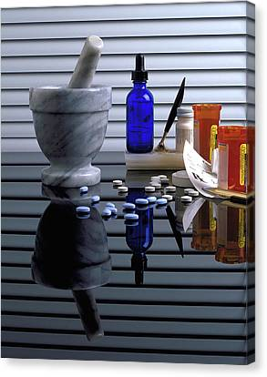 Pharmacy  Canvas Print