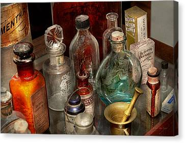 Pharmacy - Pick Your Poison Canvas Print by Mike Savad