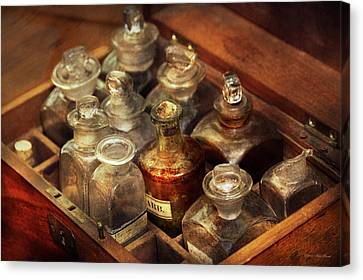 Canvas Print - Pharmacy - The Traveling Case by Mike Savad