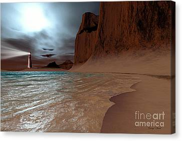 Pharos Canvas Print by Corey Ford