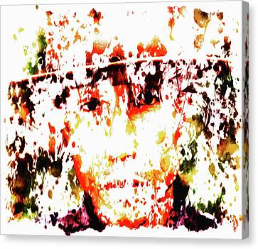 Pharrell Williams 8c Canvas Print by Brian Reaves