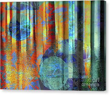 Phasing Through Canvas Print by Robert Ball